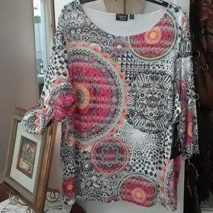 Women's plus size Onque tunic